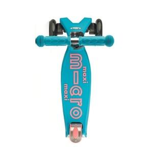 Kolobežka Maxi Micro Deluxe Aqua, Micro