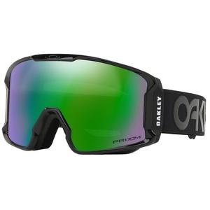 Lyžiarske okuliare Oakley LM XM FP Blackout w / prizm Jade Irid OO7093-12, Oakley