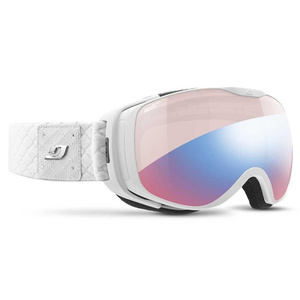 Lyžiarske okuliare Julbo Luna Zebra Light Red white chic strass, Julbo