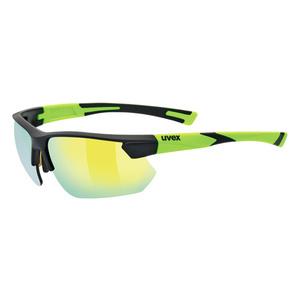 Športové okuliare Uvex SPORTSTYLE 221, Black Mat Yellow (2616), Uvex