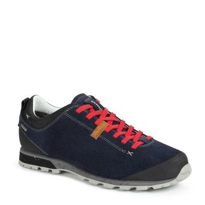 Pánske topánky AKU Bellamont Suede GTX tm. modro / červená, AKU