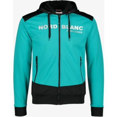 Pánska športové mikina Nordblanc s kapucňou NBSMS5615_MOL, Nordblanc