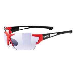 Športové okuliare Uvex SPORTSTYLE 803 RACE VM Black Red Mat (2303), Uvex