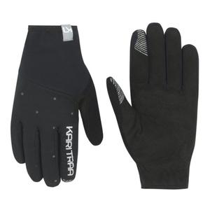 Dámske rukavice Kari Traa Eva Black / Dark Grey, Kari Traa