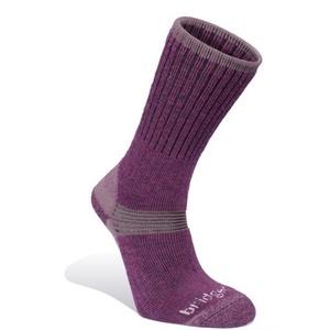 Ponožky Bridgedale Merino Hiker Women's aubergine/390, bridgedale