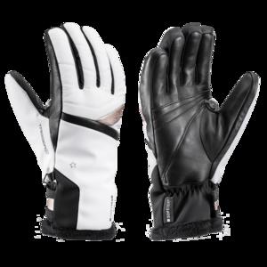 Lyžiarske rukavice LEKI Snowfox 3D Lady white / gold, Leki