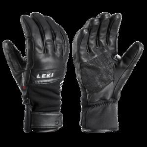Lyžiarske rukavice LEKI Lightning 3D black, Leki