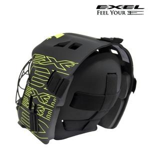 Helma EXEL G2 HELMET Junior black / yellow, Exel