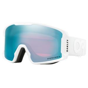 Lyžiarske okuliare Oakley LM XM FP Whiteout w / prizm Sapphire OO7093-13, Oakley