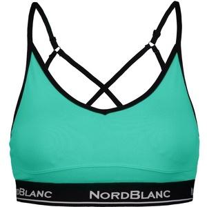 Dámska fitness podprsenka NORDBLANC Rakish NBSLF6669_SEZ, Nordblanc