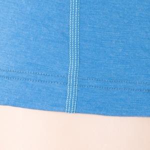 Dámske triko sa stojačikom na zips Sensor Merino Wool Active modrá 12110029