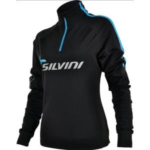 Dámska thermo mikina Silvini Crocetta WJ420 black-blue, Silvini