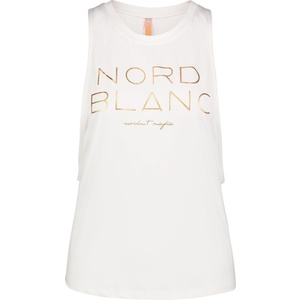 Dámske tielko na jogu NORDBLANC Wide NBSLF6694_BLA, Nordblanc