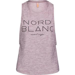 Dámske tielko na jogu NORDBLANC Wide NBSLF6694_RUJ, Nordblanc