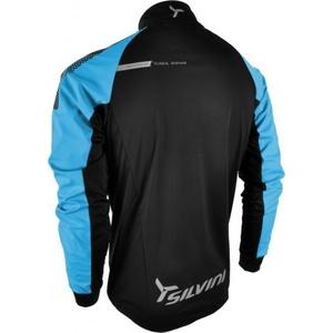 Pánska softshellová bunda Silvini Montagno MJ415 black/hawaii, Silvini