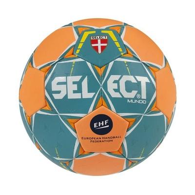 Hádzanárska lopta Select HB Mund o zeleno-oranžová, Select