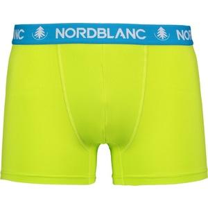 Pánske bavlnené boxerky Nordblanc depth zelená NBSPM6865_JSZ, Nordblanc