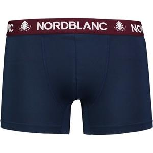 Pánske bavlnené boxerky Nordblanc depth modrá NBSPM6865_TEM, Nordblanc