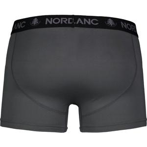 Pánske bavlnené boxerky Nordblanc depth sivá NBSPM6865_TSD, Nordblanc