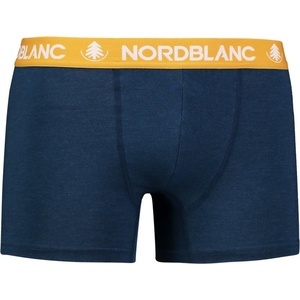Pánske bavlnené boxerky NORDBLANC Fiery NBSPM6866_ZEM, Nordblanc