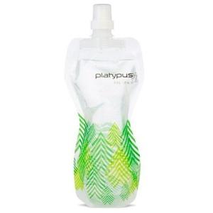 Fľaša Platypus SoftBottle Push-Pull 1 L zelená vzor, Platypus
