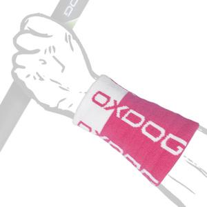 Potítko Oxdog TOUR LONG WRISTBAND pink / white, Oxdog