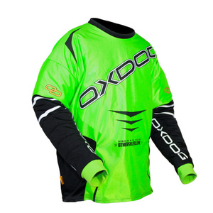 Brankársky dres Oxdog GATE GOALIE SHIRT green / black, Oxdog