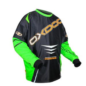 Brankársky dres Oxdog GATE GOALIE SHIRT black / green, Oxdog