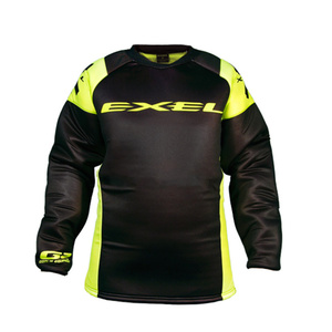 Brankársky dres EXEL G2 GOALIE PROTECTION JERSEY black / yellow, Exel