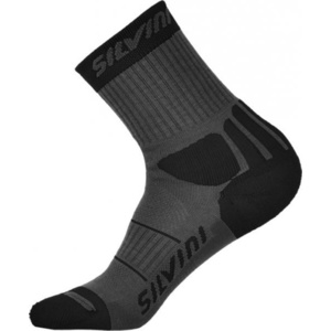 Ponožky Silvini Vallonga UA522 charcoal-black, Silvini