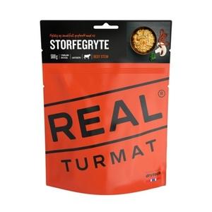 Real Turmat Hovädzie na hubách s ryžou, 142 g