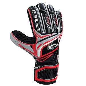 Brankárske rukavice Spokey CONTACT II červené, Spokey