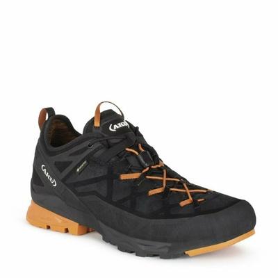 Pánske Topánky AKU Rock Dfs GTX čierno / oranžová, AKU