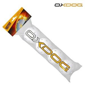Sada florbalových loptičiek Oxdog Rotor Ball White Tube, Oxdog