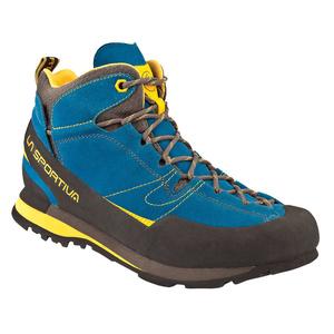 Topánky La Sportiva Boulder X Mid GTX blue / yellow, La Sportiva