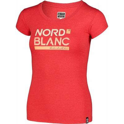 Dámske bavlnené tričko NORDBLANC Ynud čierna NBSLT7387_TCV, Nordblanc