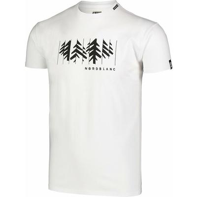 Pánske bavlnené tričko Nordblanc DEKONŠTRUKOVANÉ šedé NBSMT7398_SSM, Nordblanc