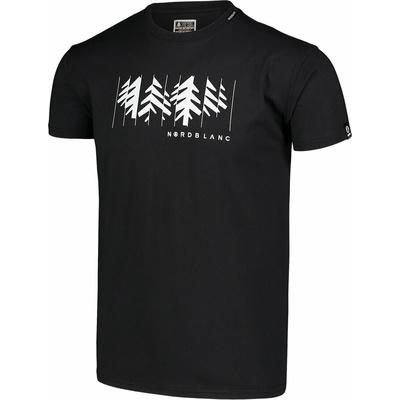 Pánske bavlnené tričko Nordblanc DEKONŠTRUKOVANÉ čierne NBSMT7398_CRN, Nordblanc