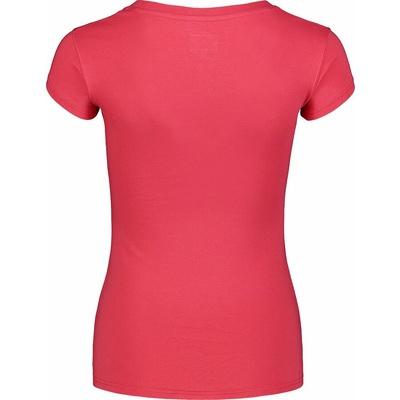 Dámske bavlnené tričko NORDBLANC Kaligrafia ružová NBSLT7400_RUP, Nordblanc