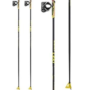 Bežecké palice Leki PRC 850 black / anthracite / white / yellow 6434040, Leki
