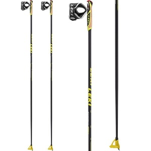 Bežecké palice Leki PRC 850 black / anthracite / white / yellow 6434040, Leki