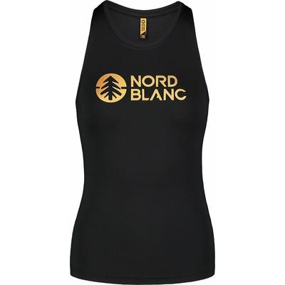Dámske fitness tielko Nordblanc balm čierne NBSLF7446_CRN
