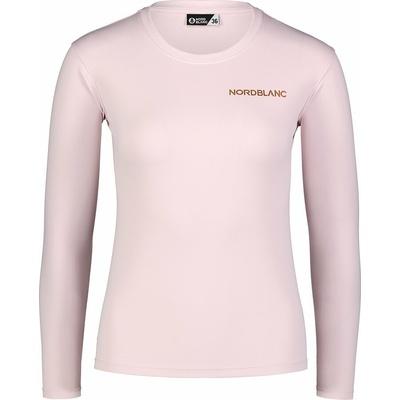 Dámske fitness tričko Nordblanc Clash ružové NBSLF7448_BRR, Nordblanc