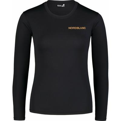Dámske fitness tričko Nordblanc Clash čierna NBSLF7448_CRN, Nordblanc