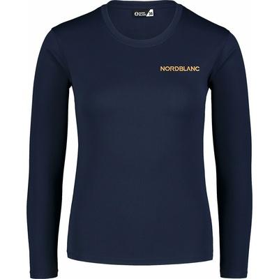 Dámske fitness tričko Nordblanc Clash modré NBSLF7448_NMM, Nordblanc