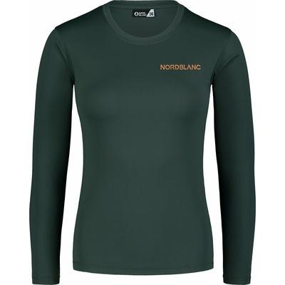 Dámske fitness tričko Nordblanc Clash zelené NBSLF7448_TZE, Nordblanc
