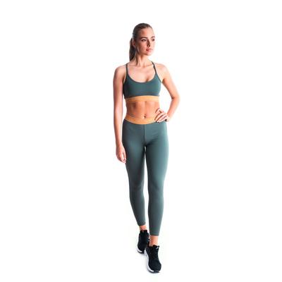 Dámske fitness legíny Nordblanc flexibility zelené NBSPL7454_TZE, Nordblanc