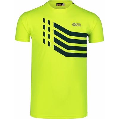 Pánske tričko Nordblanc Stronger žlté NBSMF7457_BPZ, Nordblanc