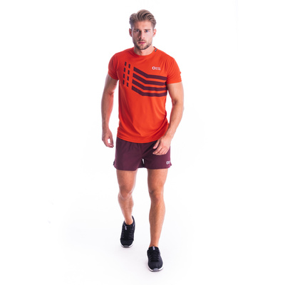 Pánske tričko Nordblanc Stronger oranžové NBSMF7457_OIN, Nordblanc