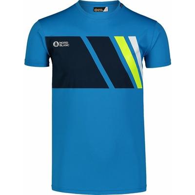 Pánske tričko Nordblanc Legacy modré NBSMF7458_AZR, Nordblanc